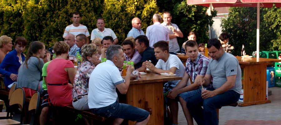 Festyn w Wiadrowie cieszył się dużym zainteresowaniem mieszkańców