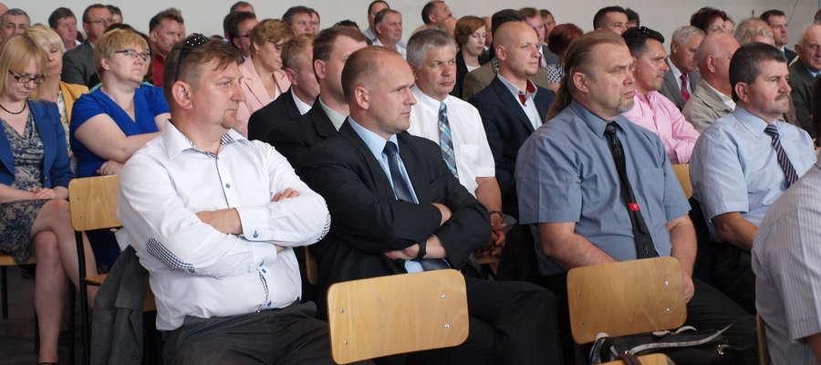 Samorządowcy z gminy Bieżuń