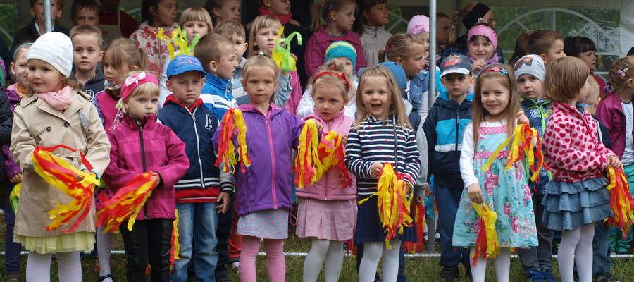 Występy przedszkolaków z Przedszkola nr 1 w Żurominie