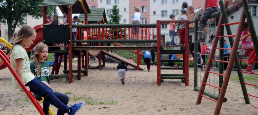 W ramach budżetu obywatelskiego powstał m.in. plac zabaw przy ul. Teatralnej