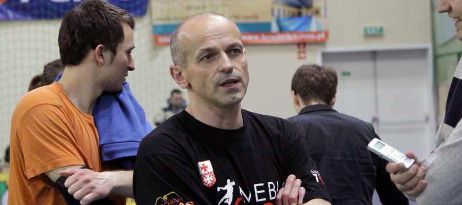 Juniorów Truso Elbląg trenuje Grzegorz Czapla