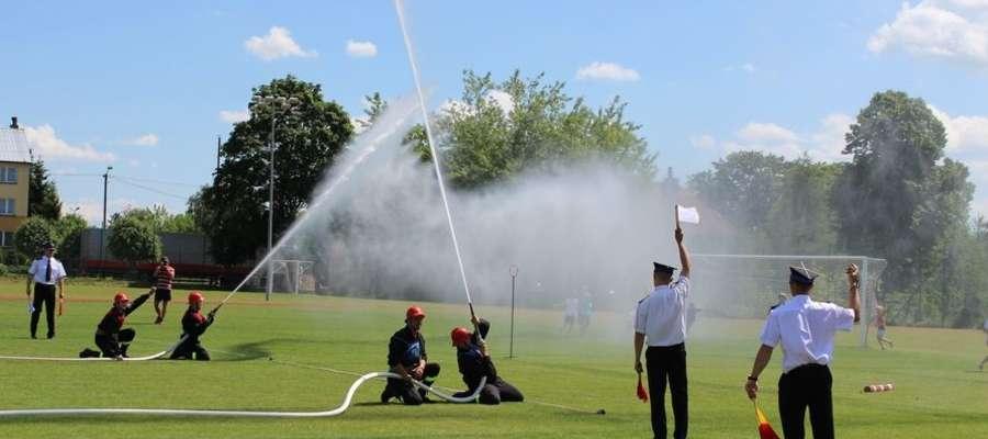 VIII Powiatowe Zawody Sportowo-Pożarnicze odbyły się w tym roku w Wydminach