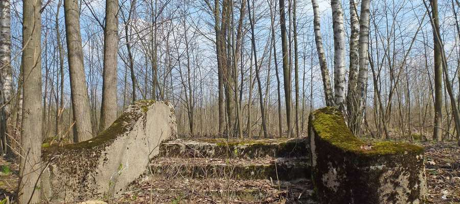 Niewiele pozostało z istniejącej przez pięć wieków wioski przy drodze z Pisza do Jeży...
