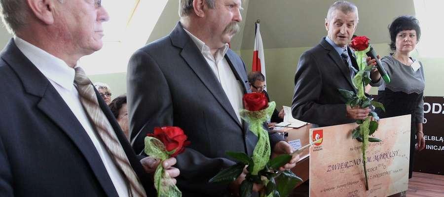 Nagrodę wręczono podczas dzisiejszej sesji Rady Powiatu w Elblągu