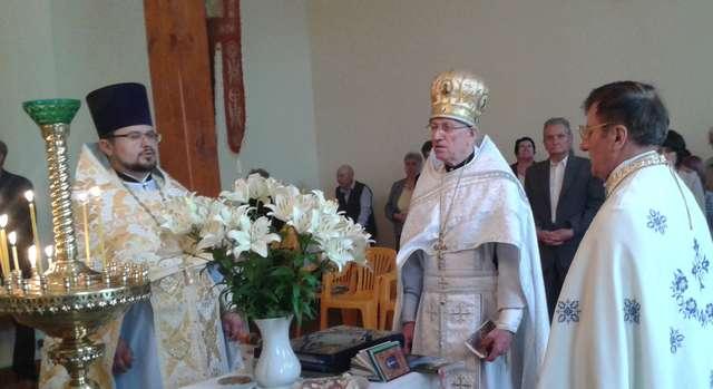 Święto apostołów Piotra i Pawła w węgorzewskiej cerkwi   - full image