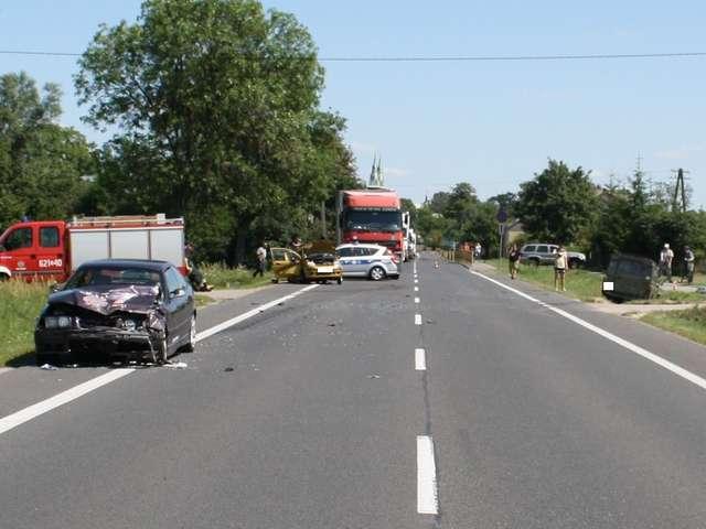 Wypadek w Gójsku - full image