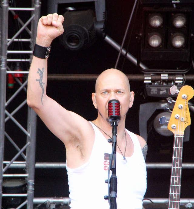 Olaf Deriglasoff na Przystanku Woodstock w 2012 roku