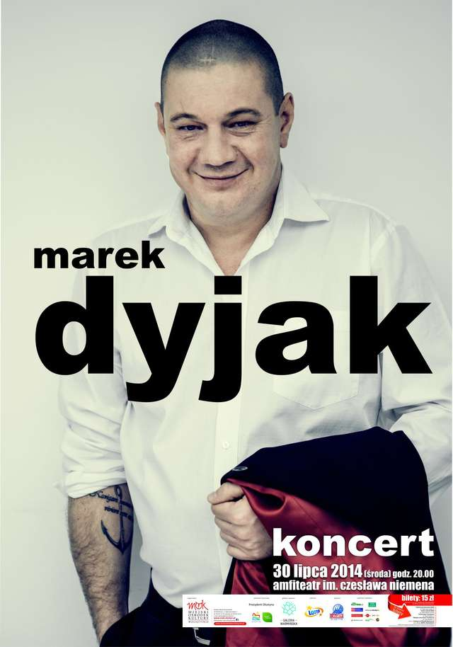 Marek Dyjak w Olsztynie - full image