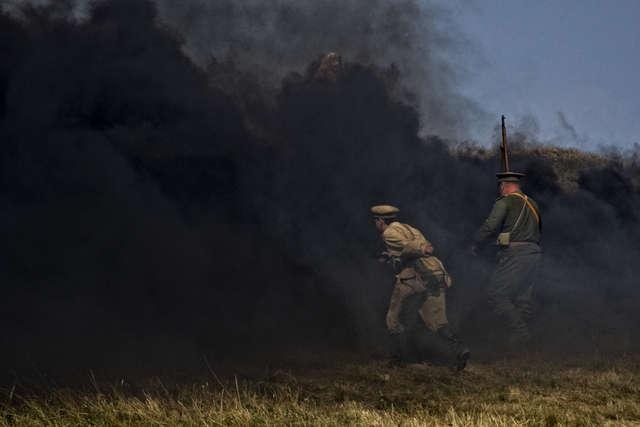 Bitwa pod Tannenbergiem w obiektywie Andrzeja Kowalskiego - full image