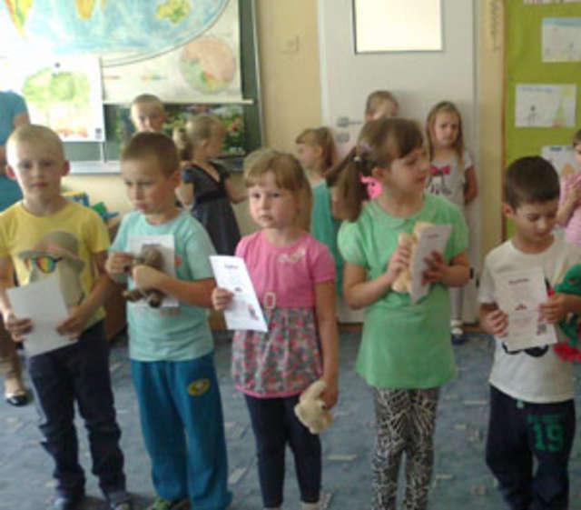 W konkursie wzięły udział dzieci 5- i 6-letnie - full image
