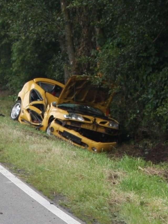 Wypadek. Mężczyzna zginął na miejscu - full image