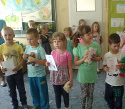 W konkursie wzięły udział dzieci 5- i 6-letnie