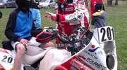 Trening Rafała Sonika na lidzbarskim torze motocrossowym