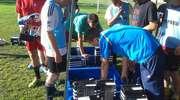 Juniorzy Paged Huragan Morąg testują sprzęt adidasa