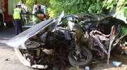 Ciężko ranny kierowca bmw w szpitalu. Wypadek pod Podlejkami