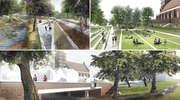 Planty połączą parki w Olsztynie. Wizualizacja