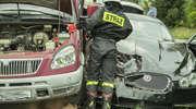 Jaguar uderzył w Gazelę. Jedna osoba ranna
