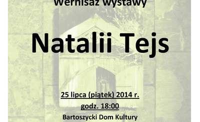 Na starych deskach, czyli wernisaż wystawy Natalii Tejs