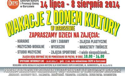 Wakacje z Domem Kultury w Barczewie