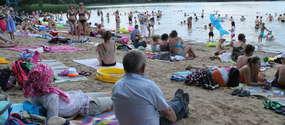 plaża w Kortowie