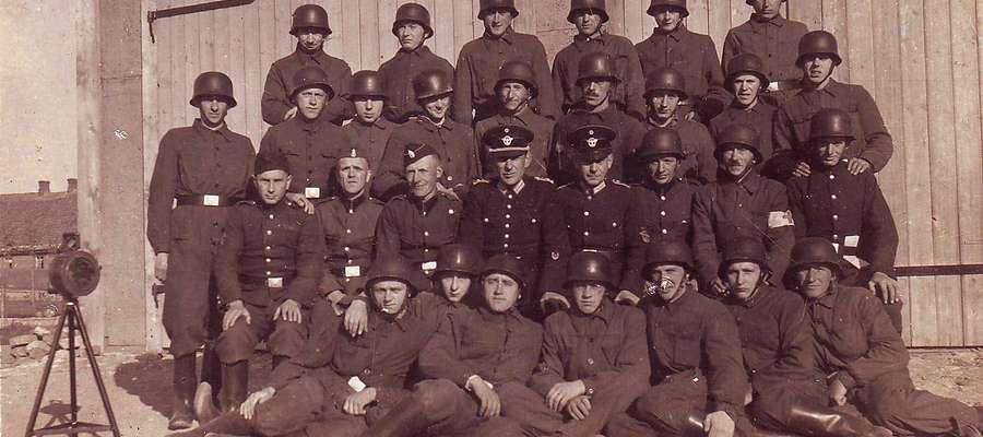 Straż z Zielunia w czasie II wojny światowej