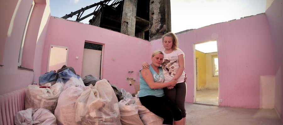 Mariola Lemańska nie ma już domu i nie ma za co go odbudować
