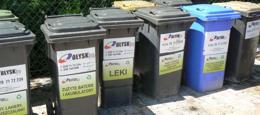 Można tu zostawiać różne odpady, m.in. stare leki i zużyte baterie