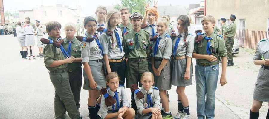 Harcerze z Żuromina uczestniczyli w Rajdzie Grunwaldzkim