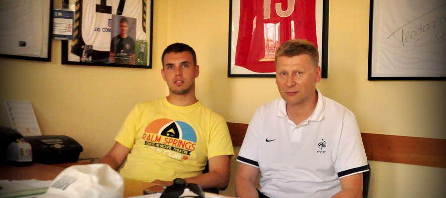 Michał Osiecki i Tomasz Siemiątkowski