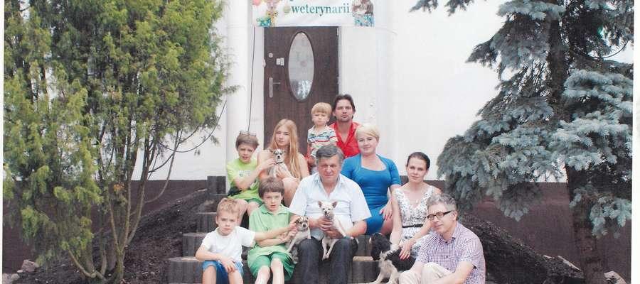 Lekarz weterynarii Jerzy Kotarski święcił 40-lecie swojej pracy ze zwierzętami