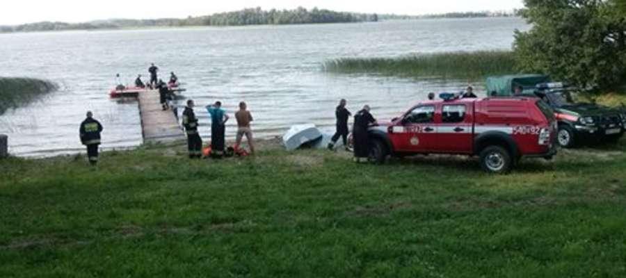 Z jeziora Orzysz w okolicy miejscowości Kamieńskie wyłowiono ciało mężczyzny