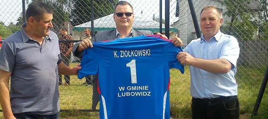 Koszulka dla wójta Ziółkowskiego