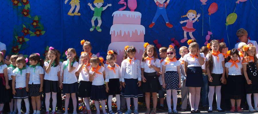 Dzieci wystąpiły z okazji jubileuszu