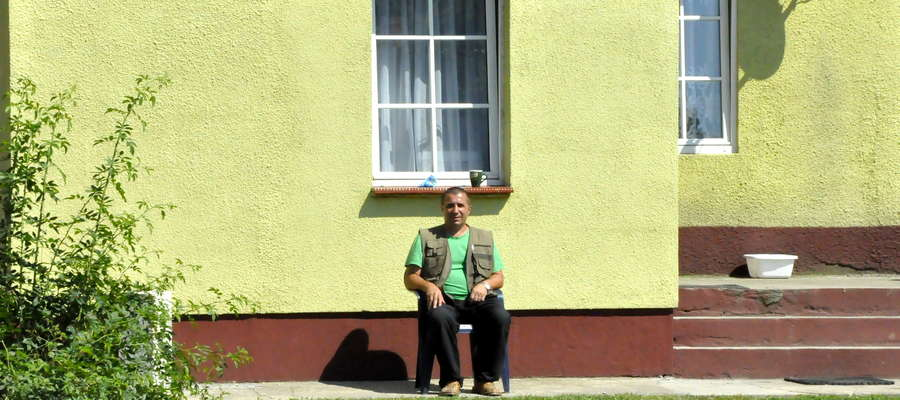 Dariusz Skonieczek mieszka między chlewniami. Komfort jego życia po powstaniu kolejnych znacznie się obniży