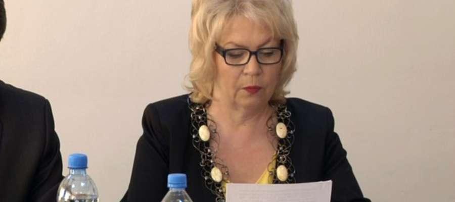Krystyna Lewańska zarzuca Małgorzacie Wrońskiej, że rozmija się z prawdą i faktami