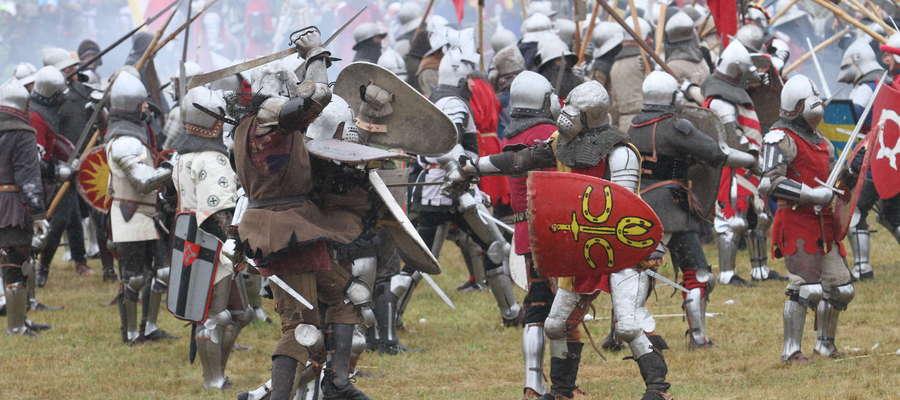 Insceniazjacja największej średniowiecznej bitwy orgazniowana jest co roku
