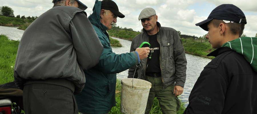 Zbigniew Truszczyński podczas zawodów na Borku