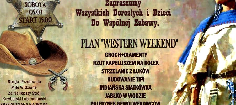 """Zapraszamy na """"Western Weekend"""" w Stopkach Osadzie!"""