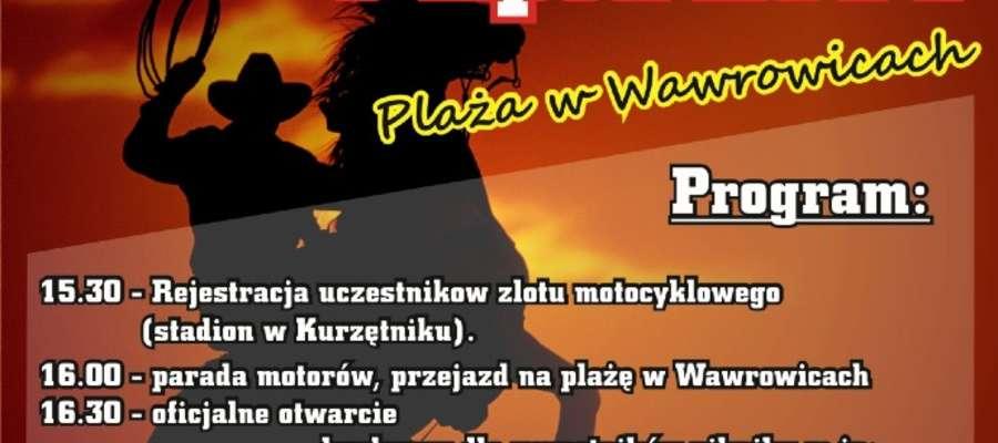 Plakat imprezy w Wawrowicach