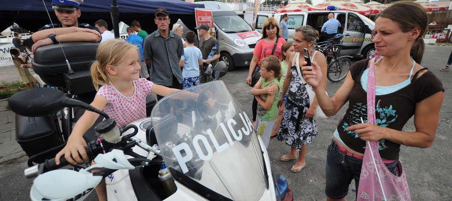 W niedzielę na bulwarze odbył się festyn policyjny