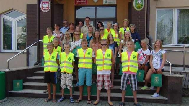 W Urzędzie Gminy Ostrów Maz. gościli uczniowie z Estonii - full image
