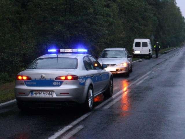 Dwoje rannych w Białasach - full image