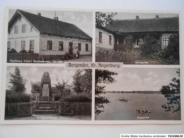 Pocztówka sprzed 1939 roku przedstawiająca Pieczarki - full image