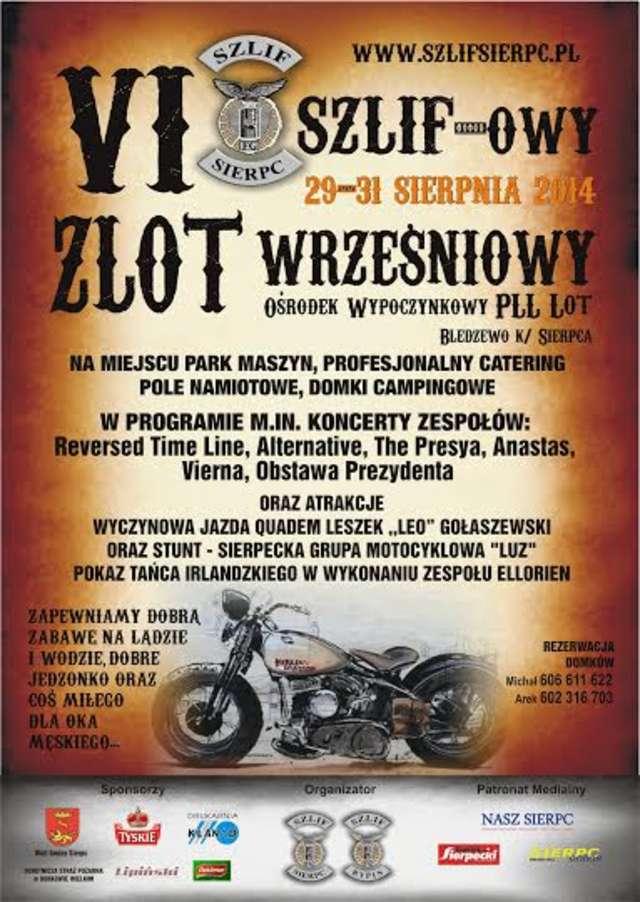 VI Szlifowy Zlot Wrześniowy - Zaproszenie - full image