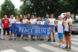 Wspólne zdjęcie uczestników biegu