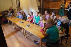 Na zajęciach obecne były starsze i młodsze dzieci