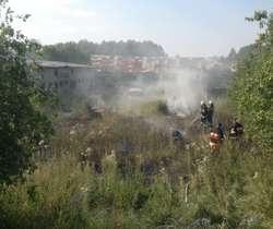 Tylko jednego dnia strażacy otrzymali zgłoszenia do kilku pożarów