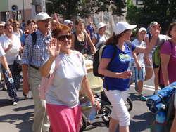 Pielgrzymi wyszli z Ostrowi 2 sierpnia, po mszy św.
