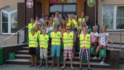 W Urzędzie Gminy Ostrów Maz. gościli uczniowie z Estonii
