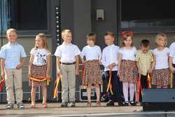 Na scenie zatańczyły dzieci z ZPO w Wąsewie
